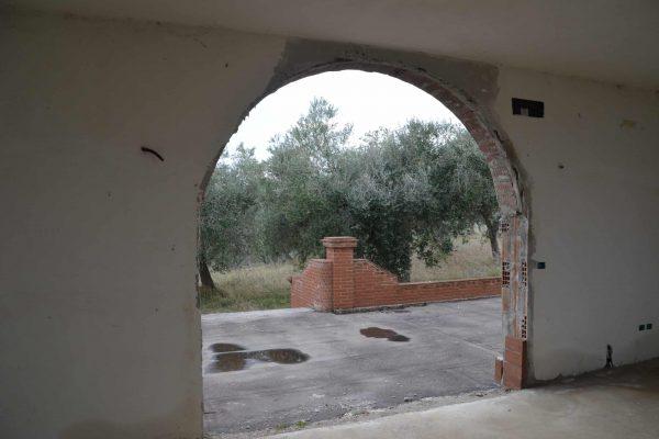 DSC_0655 - hoofdingang ronde opening voor traditionele deuren