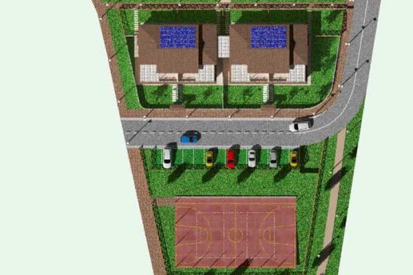 plattegrond park van boven